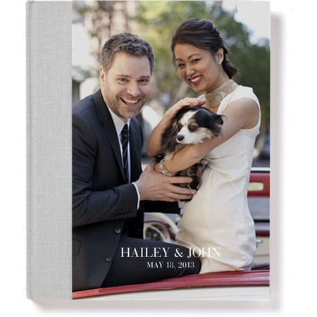 Signature Hardcover Photo Book with Classic Font