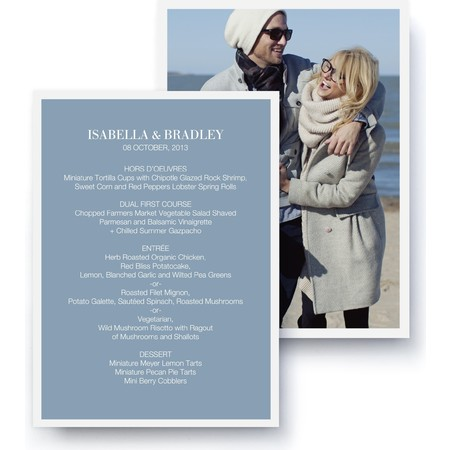 Timeless A La Carte Card