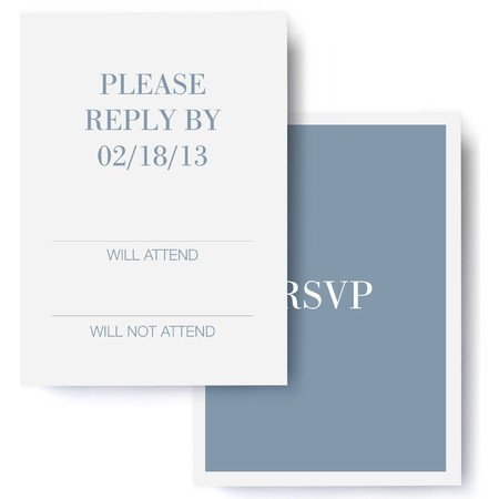 Timeless Wedding RSVP