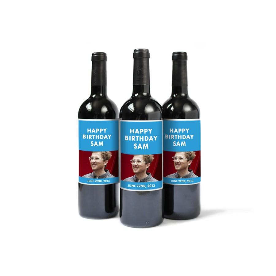 Custom Wine Labels for Him