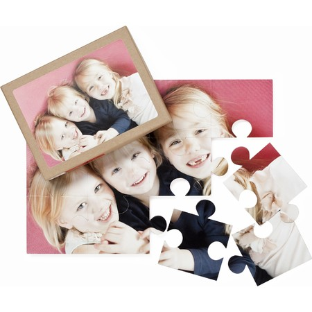 12-Piece Photo Puzzle - Horizontal