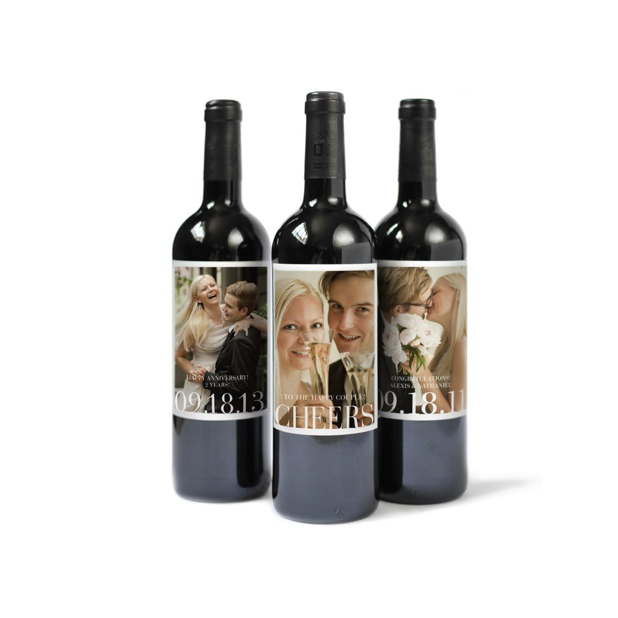 Custom Photo Wine Labels