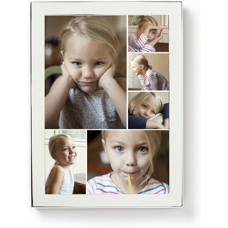 5X7 Silver Framed Photo Collage