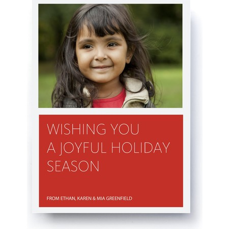 Joyful Holiday Happy Holiday Envelopes