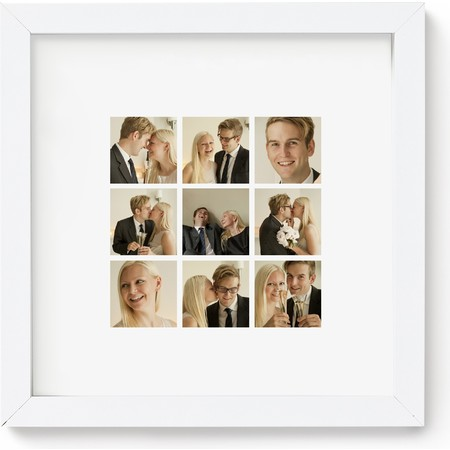 10X10 Framed Photo Collage