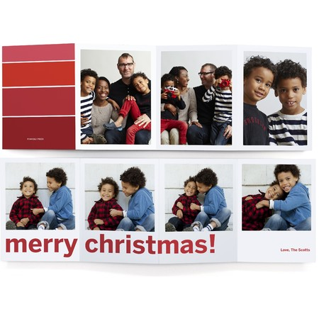 Ombre Merry Christmas Card
