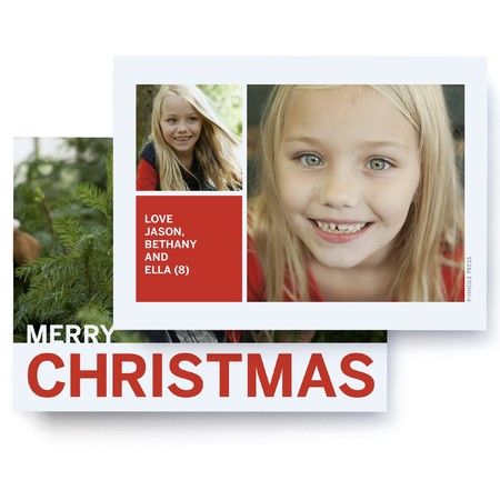 Merry Christmas to You Photo Card