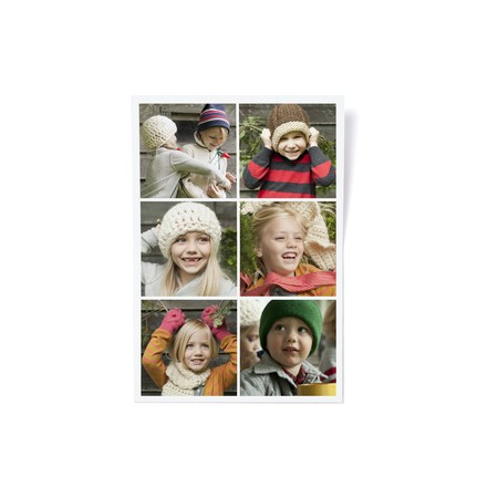 Merry Christmas Tree Photo Card