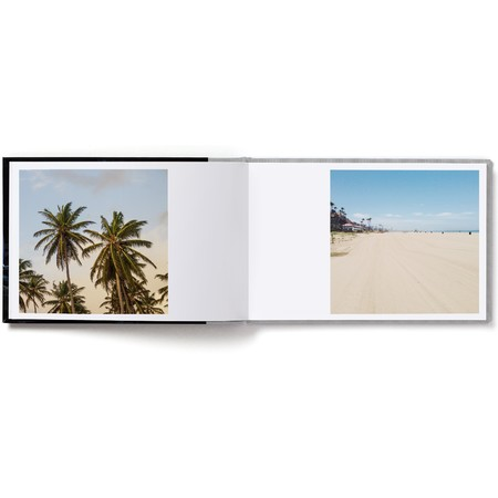 Landscape Layflat Photo Book with Modern Font