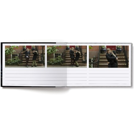 Guest Book Layflat with Classic Font