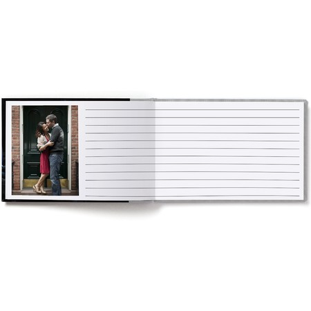 Guest Book Layflat with Modern Font