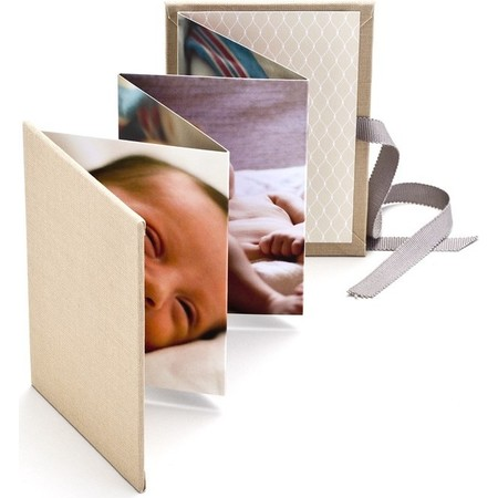 Brag Book with Khaki Fabric