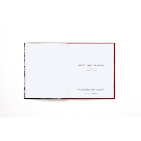 Signature Hardcover Photo Book