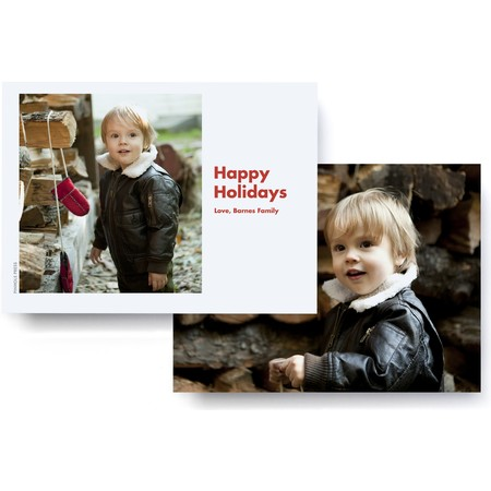 Full Frame Holiday Photo Card