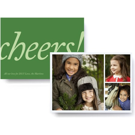 Cheers! Holiday Photo Card
