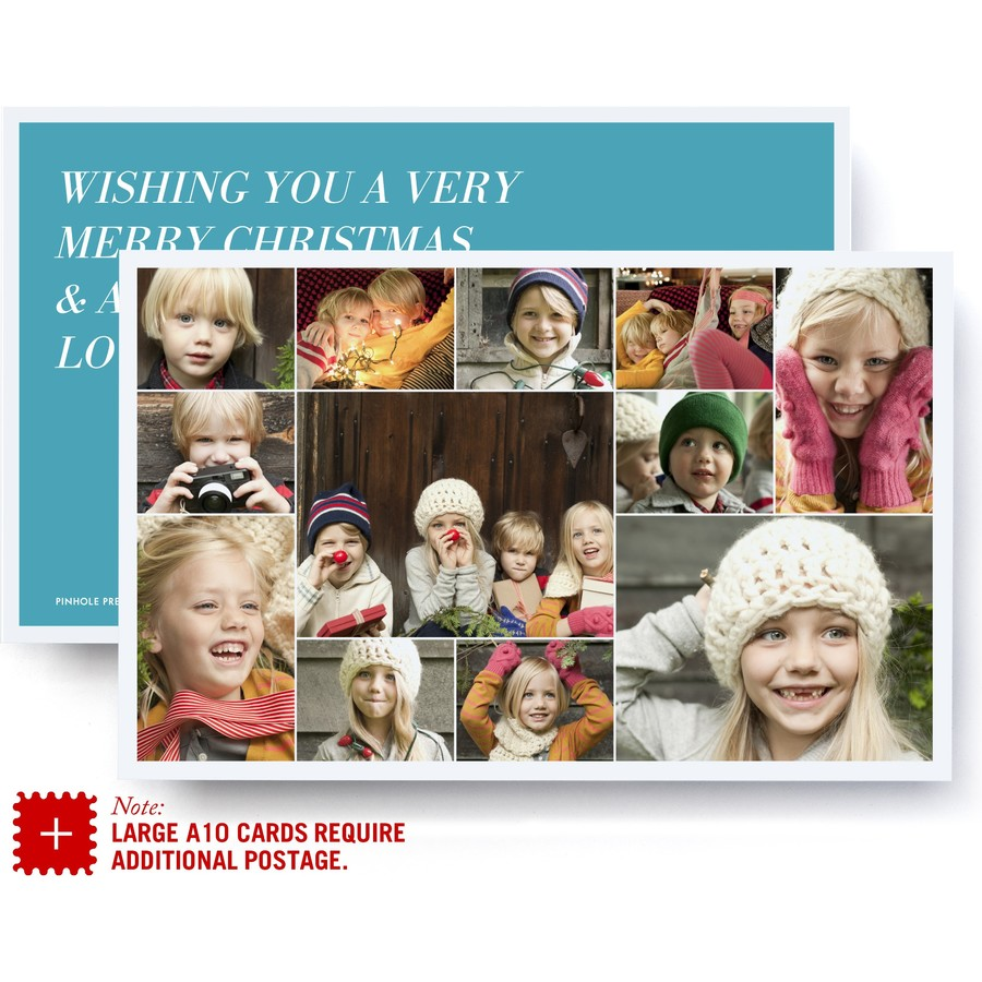 Jumbo Collage Holiday Card