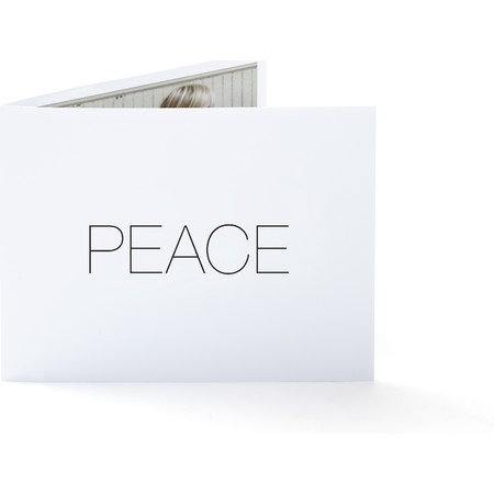 Peace Folded Holiday Card