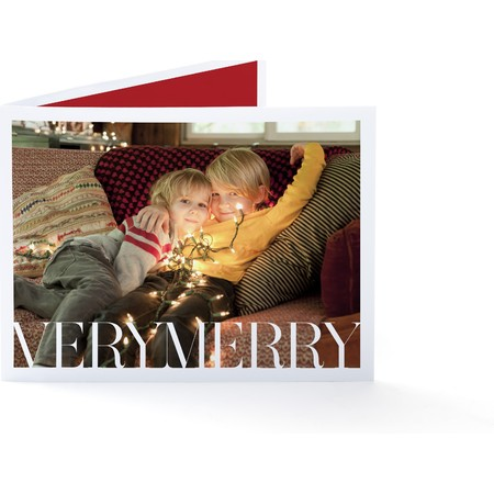 Merry Merry Christmas Greetings Card