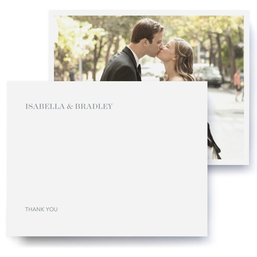 Echo Wedding Thank You Cards
