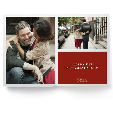 Love Valentine's Day Photo Card