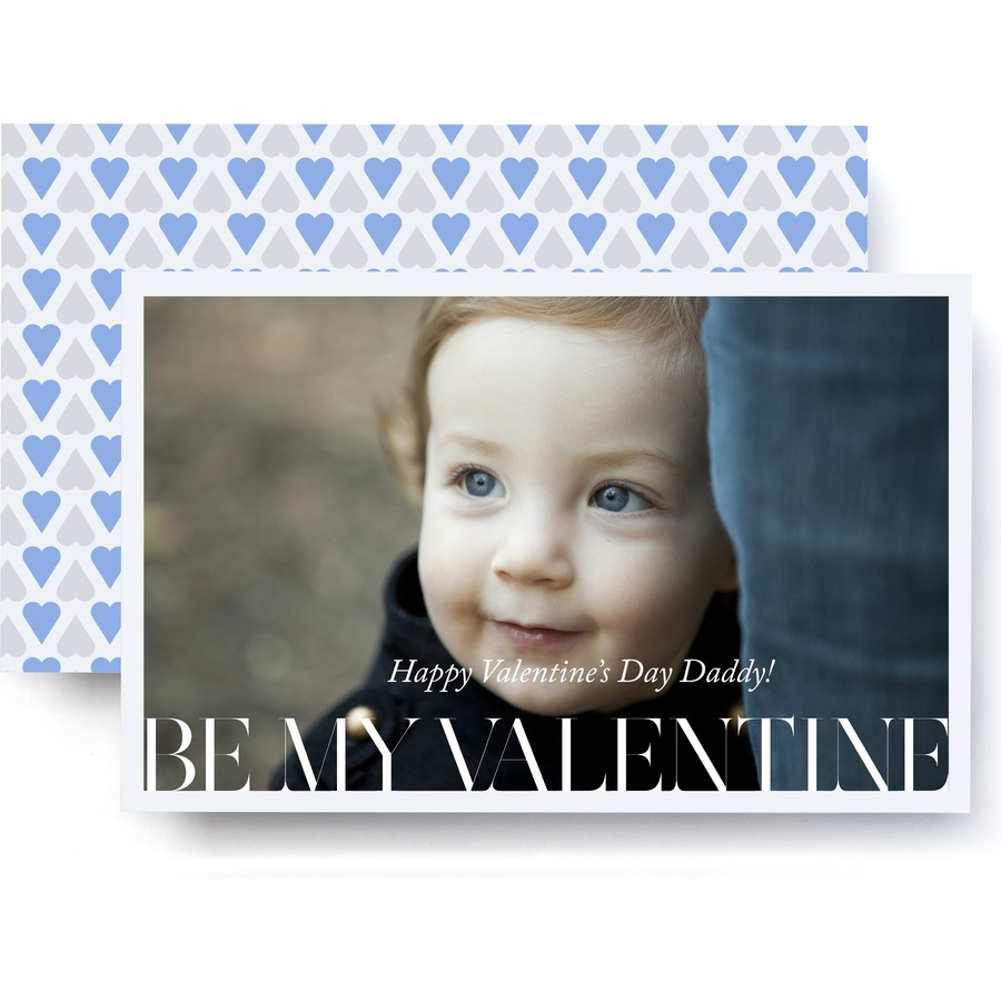 Jumbo Valentine Photo Card