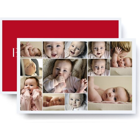 Jumbo Photo Collage Card