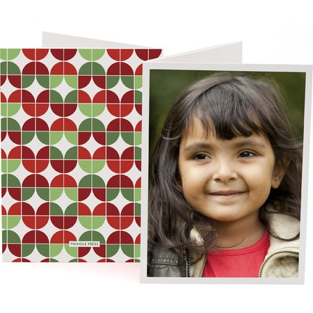 Flower Power Trifold Photo Card