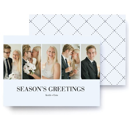 Diamond Holiday Photo Card