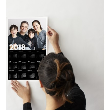 Photo Wall Decal Calendar (Single)