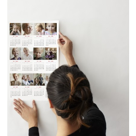 Photo Wall Decal Calendar (Multi)