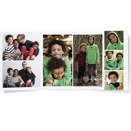 Spruce It Up Trifold Photo Card   Happy Holidays Envelopes
