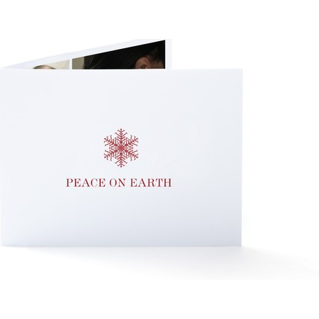 Red Snowflake   Happy Holidays Envelopes