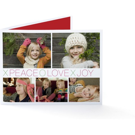 Peace Love Joy Xoxo   Happy Holidays Envelopes