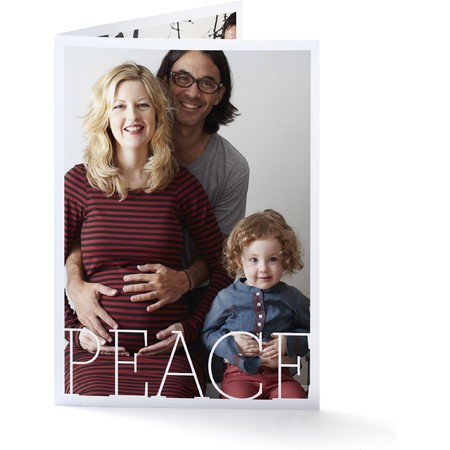 Peace Portrait   Happy Holidays Envelopes