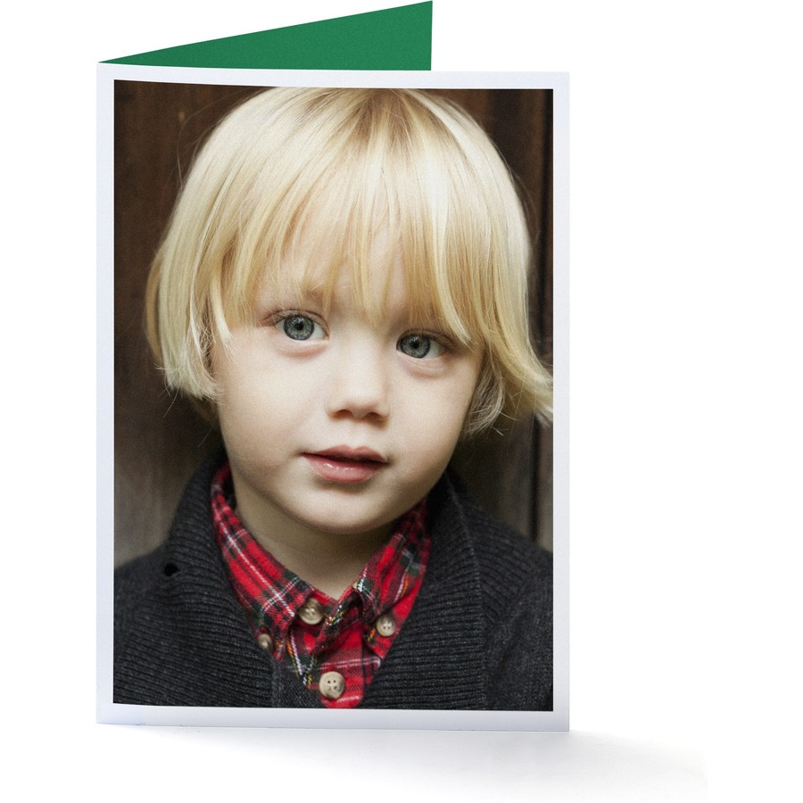 Frameable Portrait Happy Holidays Envelopes