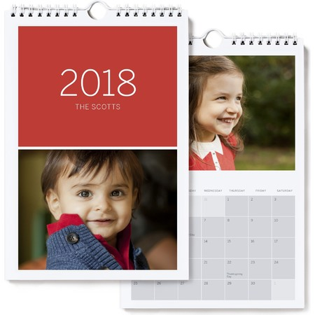 Mini Photo Wall Calendar