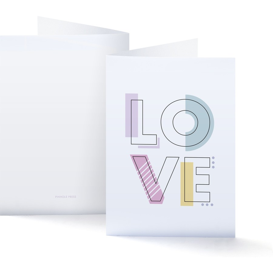 LOVE Letters Photo Card
