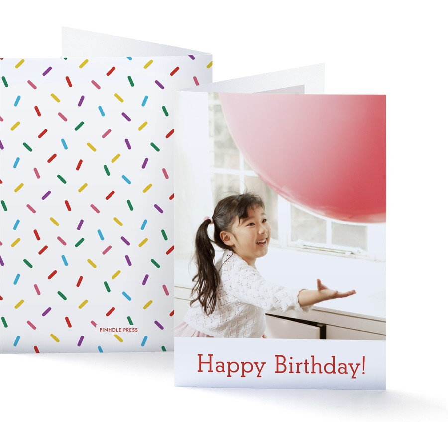 Happy Birthday Sprinkles Card