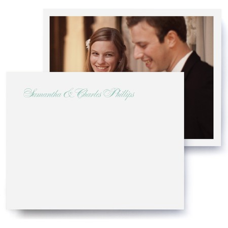 Fête Wedding Thank You Stationery