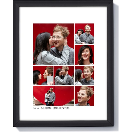 11X14 Framed Photo Collage