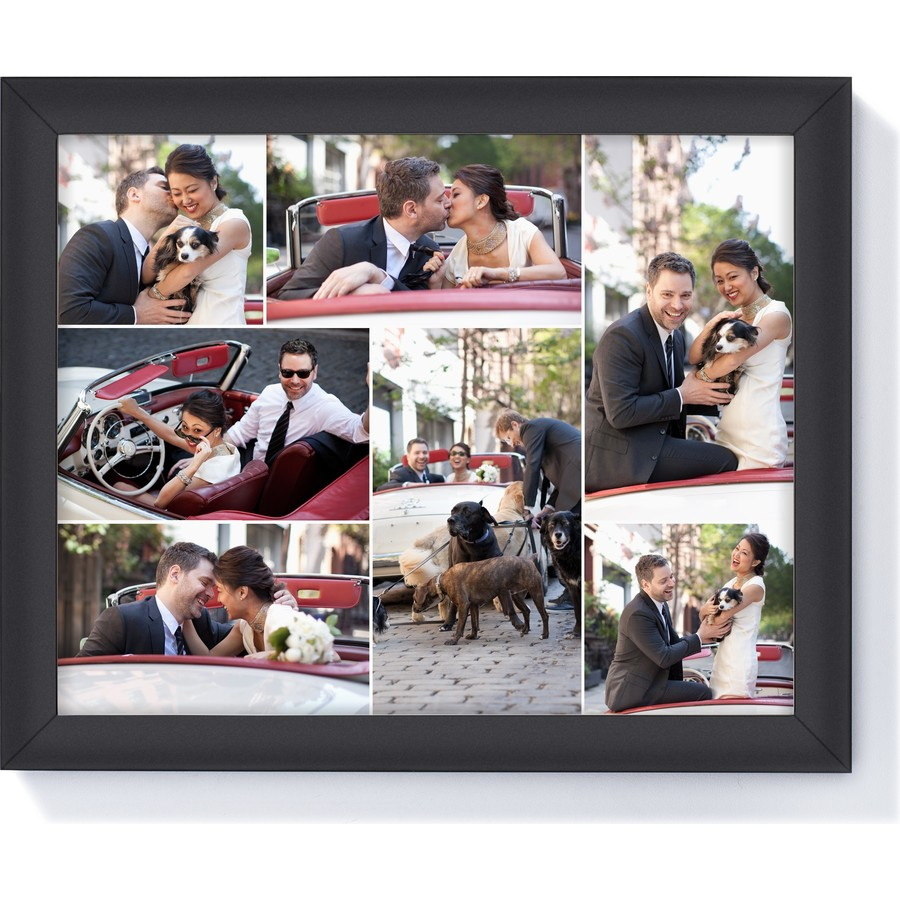8x10 Framed Photo Collage