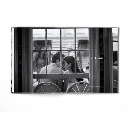 Portrait Layflat Photo Book with Classic Font