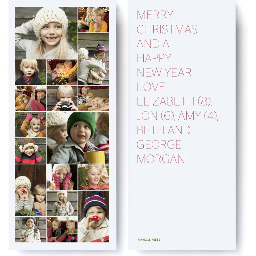 Merry Christmas Collage Card