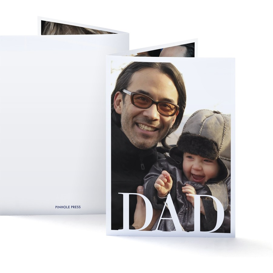 Photo Card for Dad
