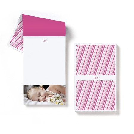 Radiant Stripes Notepad