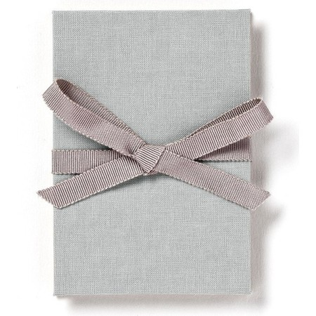 Brag Book with Gray Fabric