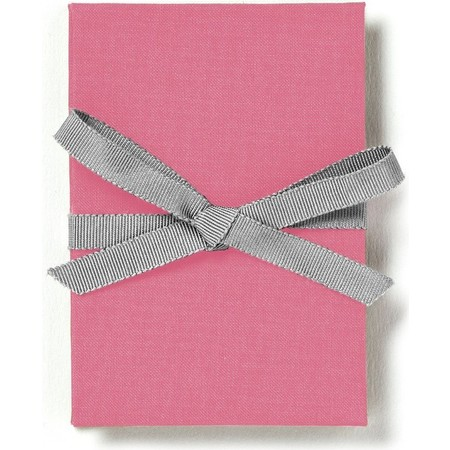 Brag Book with Pink Fabric