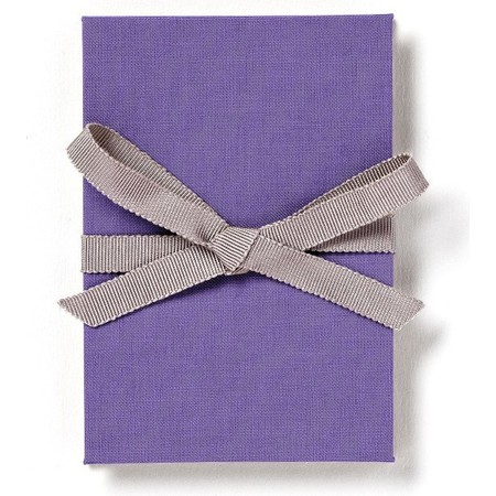 Brag Book with Periwinkle Fabric
