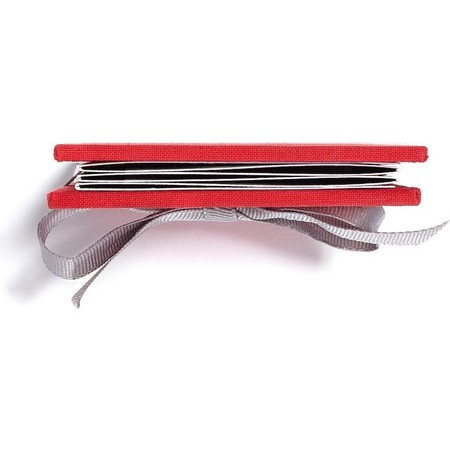 Brag Book with Red Fabric