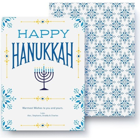 Warm Hanukkah Wishes Card